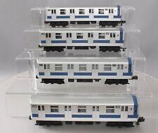 MTH 30-2122-1 1970 New York Transit Subway 4-Car Set w/PS EX