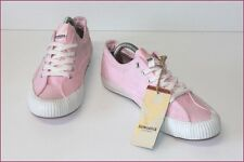 Hungaria Tennis Low Sneakers Canvas Pink T 39 Mint