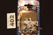 Games Workshop CITTADELLA Giocatore Bloodbowl NANI NANO Figure in metallo 5 x Team 1990s fuori catalogo