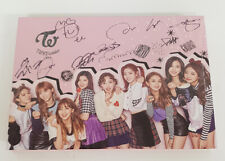 KPOP TWICE AUTOGRAPH SIGN CD SPECIAL ALBUM PHOTO BOOK LYRICS TWICEcoaster LANE 2