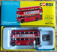 Corgi OM46613 60th Anniversary New Routemaster Bus Ltd Edition NIB