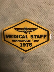 1978 Indy 500 Medical Armband