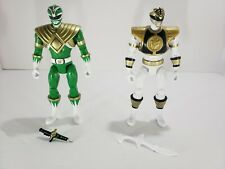 Power Rangers Green And White Ranger