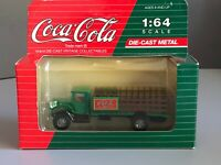 Vintage Coca Cola Collectables Mack Model BM Delivery Truck Die-Cast 1:64 3
