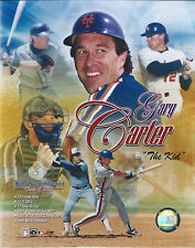 GARY CARTER NEW YORK METS MONTREAL EXPOS 8 X 10 PHOTO WITH ULTRA PRO TOPLOADER