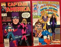 Marvel Comics Captain America #381 #388 Comic Books Lot of 2
