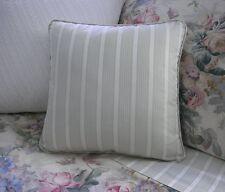 NEW Custom Ralph Lauren Winter Garden Stripe Throw Pillow 16 inch Invis Zipper