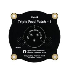 Black Directional Circular Polarized Plate Receiving Antenna Patch Antenna US
