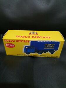 Hornby Dublo Diecast R7249 Scammel Mechanical Horse Van Hornby Centenary edition