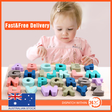 Numbers Math 0-20 Wooden Jigsaw Children Baby Learning Educational Puzzle Toy