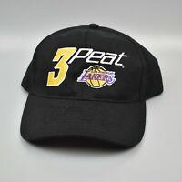 Los Angeles Lakers 2002 NBA Champions 3 Peat Vintage Headmost Strapback Cap Hat