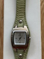 RELIC WOMEN WATCH GENUINE LEATHER Not Working Need New Battery