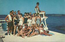 Postcards pair Chautaqua New York College Club Beach Lake Chautaqua