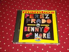 """CD """"MAMBOS"""" PEREZ PPRADO & BENNY MORÉ, COMPIL° 16 TITRES / TB ETAT"""