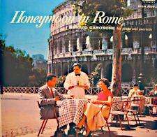 RENATO CAROSONE honeymoon in rome LP CAPITOL USA scapricciatiello/la panse VG++