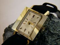 Tudor by Rolex, Vintage Ladies Watch 18K Yellow Gold, 17 Rubies