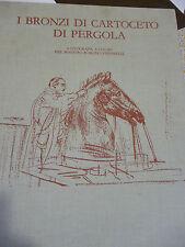 STEFANELLI  I BRONZI DI CARTOCETO DI PERGOLA  6 LITOGRAFIE grande formato nr.1