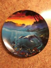 "The Bradford Exchange ""All God's Children"" Whales Collector Plate"