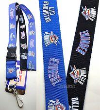 NBA Oklahoma City Thunder Two Tone Keychain Lanyard