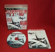 Batman: Arkham City -- Game of the Year Edition (Sony PlayStation 3 PS3, 2012)