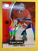 2018-19 Upper Deck Synergy Red Base #31  Carey Price Montreal Canadiens