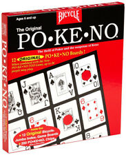U.S. PLAYING CARDS Jumbo Pokeno Game Great Party Game For Kids And Adults 1 Pack