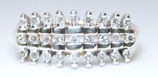 Antique 10K Yellow Gold .25 Ct + Round Brilliant Diamond Cluster Ring Size 7