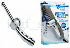 CleanStream Flow Regulator Nozzle Shower System Attachment Increase Enema