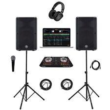 Pioneer DJ System DDJ-SB2/Yamaha DBR12 Complete Professional DJ System