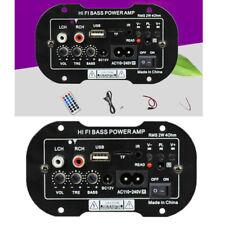 220V 50W Negro MP3 bajo Subwoofer Tabla Coche Audio Poder Módulo Amplificador De