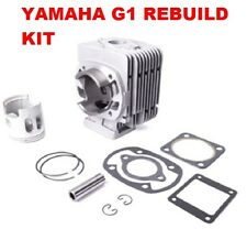 Yamaha G1 Golf Cart Cylinder & Piston Kit Top End Overhaul Kit 2 Cycle Gas