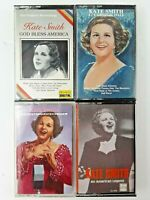 Lot of 4 Kate Smith Music Cassette Tapes