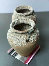 Vintage Pieuvre pot. ibérique en terre cuite. RARE