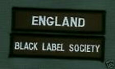 BLACK LABEL SOCIETY MEMBER CLUB COLLECTIONS: ENGLAND UK BLS FAN CLUB PATCH SET