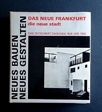 Neues Bauen Neues Gestalten NEW FRANKFURT 1920s Modernist Architecture & Design