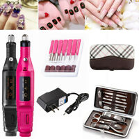 Electric Nail Drill Machine Grinder Polisher Manicure Pedicure Professional Set