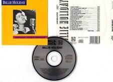 "BILLIE HOLIDAY ""Cheek To Cheek"" (CD) 1990"