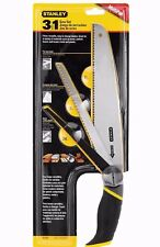 STANLEY 3 in 1 Hand Wood Saw, Compass, Tree Pruning & Metal Blade Hacksaw 020092
