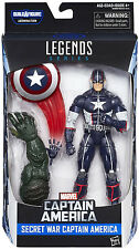 Marvel Legends - CAPTAIN AMERICA (SECRET WAR) Action Figure - WAVE 3 - IN STOCK