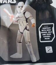 Star Wars Stormtrooper Disney child Boy's Halloween Costume Size S (4-6)