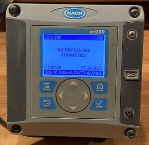 Hach SC200 General Purpose Analyzer LXV404.99.00552 Used - Tested