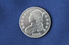 1832 Capped Bust Silver Half Dollar LL Large Letters Great Type Coin M1019