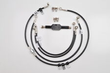 08-12 XR1200 Galfer 3-Line Front and Rear Brake Line Kit, Clear  D753-3/D753-R