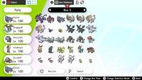 Pokemon Sword and Shield Home Legendary 6iv 40 Pokemon plus free Master Balls
