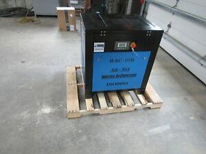 Air-Max  10 hp. MAC-10B Industrial  Rotary Screw Compressor 12 year warranty !!