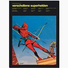 Perlen der Comicgeschichte 4 BSV Verschollene Superhelden Comic Kunst Golden Ära