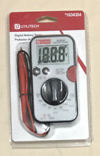 Utilitech Digital Battery Tester With Test Leads