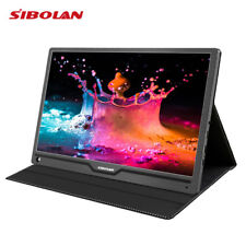 SIBOLAN S4 17.3 inch IPS 1080P HDR Portable Monitor with Dual HDMI input