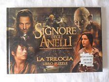Il Signore degli Anelli trilogia libro puzzle Lord of the Rings trilogy