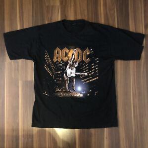 Vintage AC/DC Stiff Upper Lip Tour T Shirt Large 2000 Original Authentic Rock